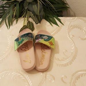 Sam Edelman Shoes - Sam Edelman Tropical Beach Pool Sandals Sz 3